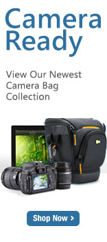 Camera Ready, View our newest camera bag collection