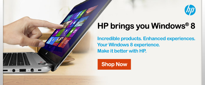 HP brings you Windows 8