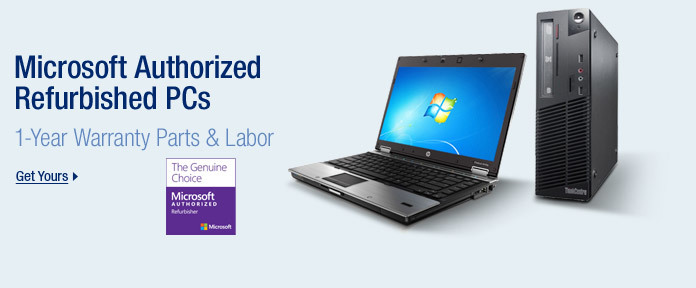 Microsoft Authorized Refurbished PCs