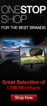 Great selection of LCD Monitors
