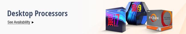 Latest Desktop Processors