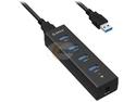 ORICO H4013-U3-BK USB 3.0 4 Ports Hub