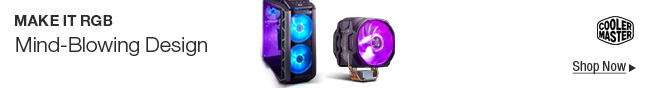 COOLER MASTER -- Make It RGB -- Mind-Blowing Design