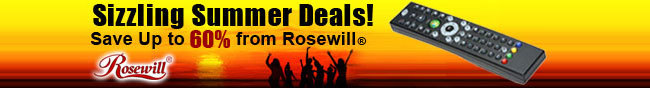 Sizzling Summer Deals! Save up to 60% from Rosewill.