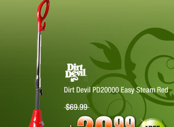 Dirt Devil PD20000 Easy Steam Red