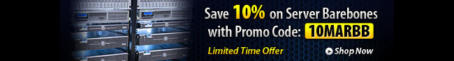 Barebone -  Save 10% on Server Barebones with Promo Code: 10MARBB. Limited Time Offer. Shop Now.
