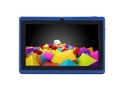 "iRULU eXpro X1 7"" Android 4.4 KitKat Tablet with GMS Certification,1024*600 HD Resolution, Quad Core, 512MB RAM, 16GB ROM - Blue"