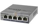 NETGEAR ProSAFE 5-Port Gigabit Web Managed (Plus) Switch (GS105E) - Lifetime Warranty