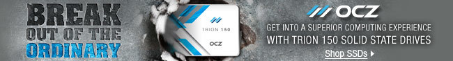 OCZ - BREAK OUT OF THE ORDINARY