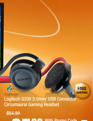 Logitech G330 3.5mm/ USB Connector Circumaural Gaming Headset