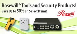 Save on Rosewill Tools and Security Products