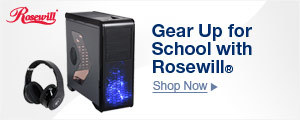 Gear Up for School with Rosewill®