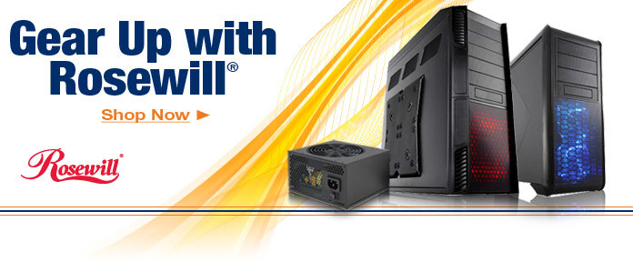Gear Up with Rosewill