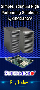 Simple, easy and high performing solutions by SUPERMICRO