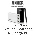 World Class External Batteries & Chargers