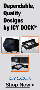 Dependable, Quality Designs by ICY DOCK®