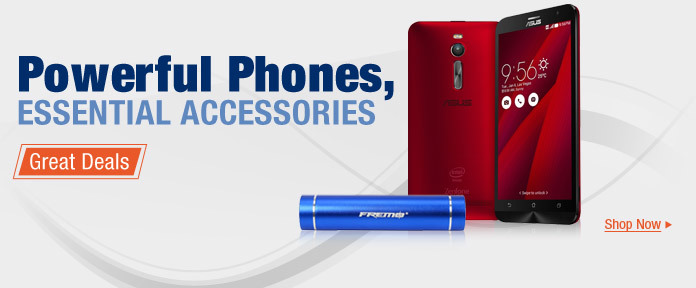 Powerful Phones, Essential Accessories