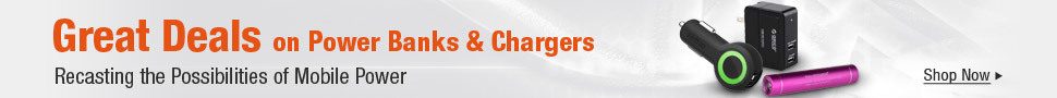 Great Deals on Power Banks & Chargers
