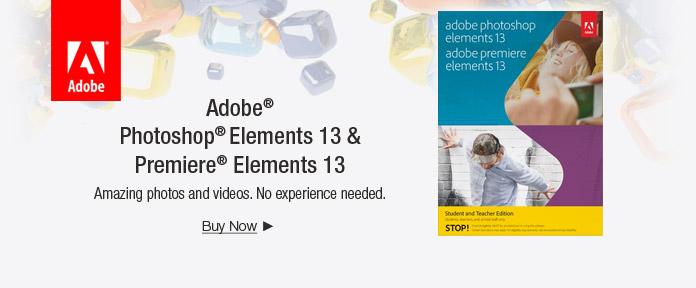 Adobe® Photoshop® Elements 13 & Premiere® Elements 13