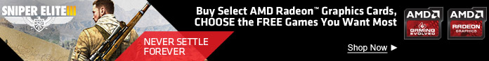 Buy select AMD Radeon Graphics Cards, CHOOSE the FREE games you want most