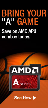 BRING YOUR  A  GAME WITH AMD APUS