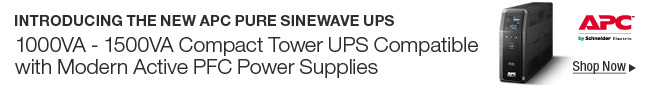 INTROUCING THE NEW APC PURE SINEWAVE UPS; Shop Now