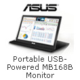 Portable USB-Powered MB168B Monitor