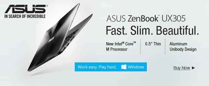 ASUS ZenBook UX305, BUY NOW