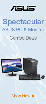 Spectacular ASUS PC& Monitor Combo Deals