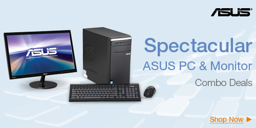 Spectacular ASUS PC & Monitor Combo Deals