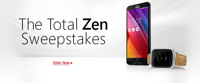 The Total Zen Sweepstakes