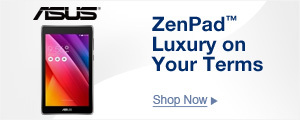 ZenPad™ Luxury on Your Terms