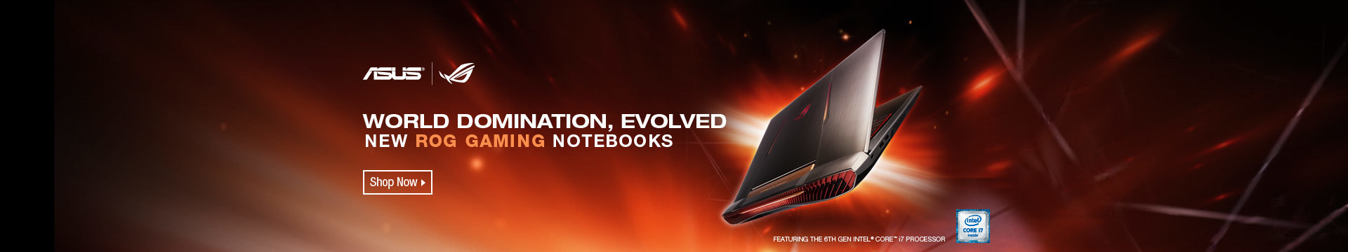 ASUS WORLD DOMINATION, EVOLVED