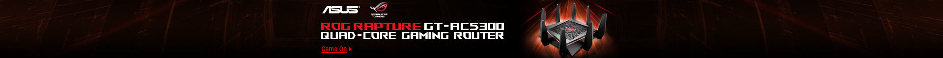 ROG RAPTURE GAMING ROUTER