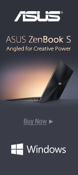 ASUS ZenBook S Angled for Creative Power