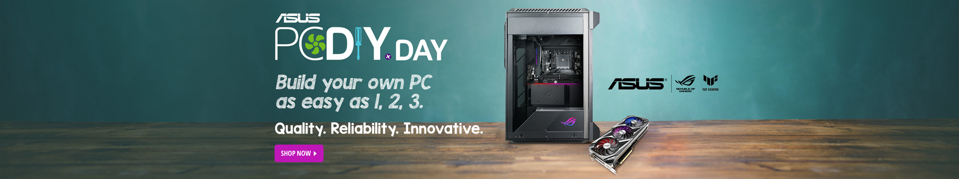 ASUS PC DIY DAY