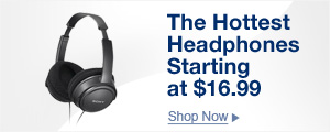The Hottest Headphones staring at $16.99