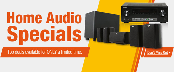 Home Audio Specials