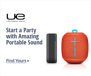 Start a party with amazing portable sound