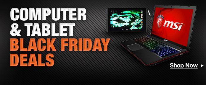 PCs & Tablets Black Friday Deals