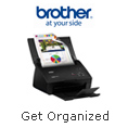 Get organized with easier, faster scanning, for less