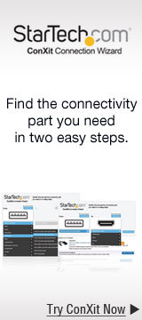 Find the connectivity part you need in two easy steps
