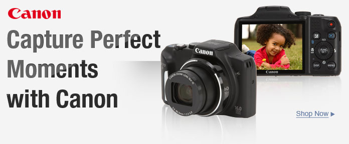 Capture Perfect Moments With Canon