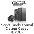 Fractal Design Cases & PSUs