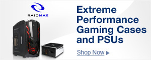 Extreme Performance Gaming Cases and PSUs