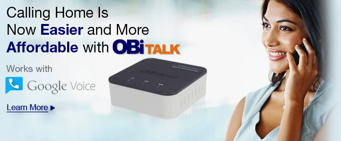 Calling Home Is Now Easier and More Affordable with OBiTALK