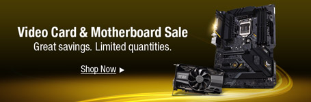 Video card & Motherboard sale