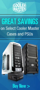 Cooler Master Savings On Select Cases & Power Supplies