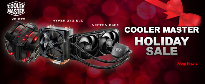 Cooler Master Holiday Sale