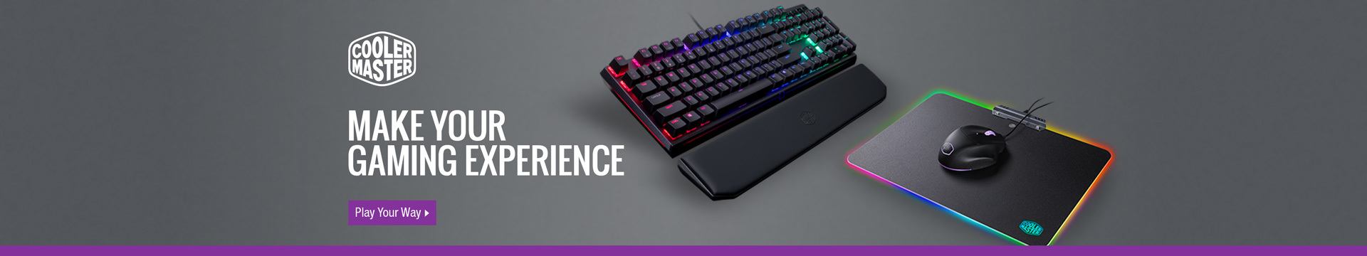 MAKE YOUR GAMING EXPERIENCE